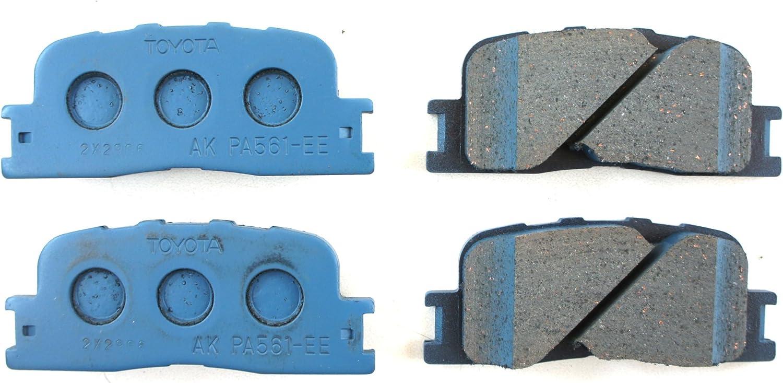 Toyota Genuine Parts 04466-33140 Rear Brake Pad Set