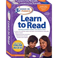 Hooked on Phonics Learn to Read - Levels 3&4 Complete: Emergent Readers (Kindergarten - Ages 4-6)