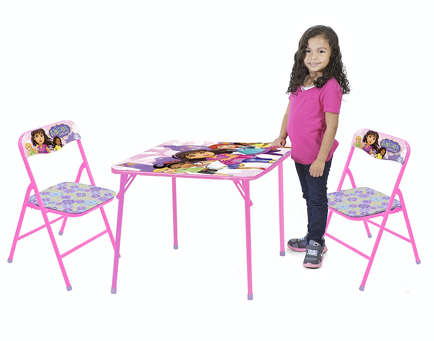 Amazon.com: Nickelodeon Dora and Friends Table and Chair Set (3 ...