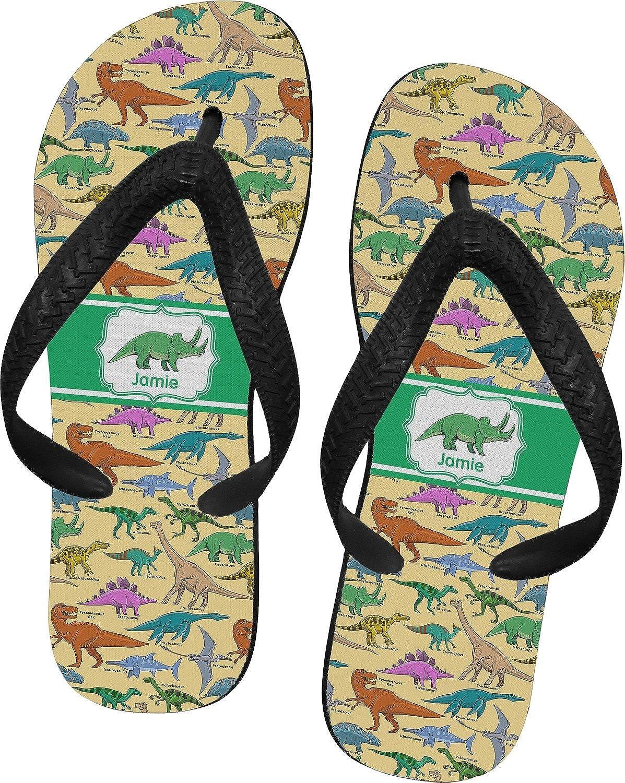 Dinosaurs Flip Flops (Personalized)