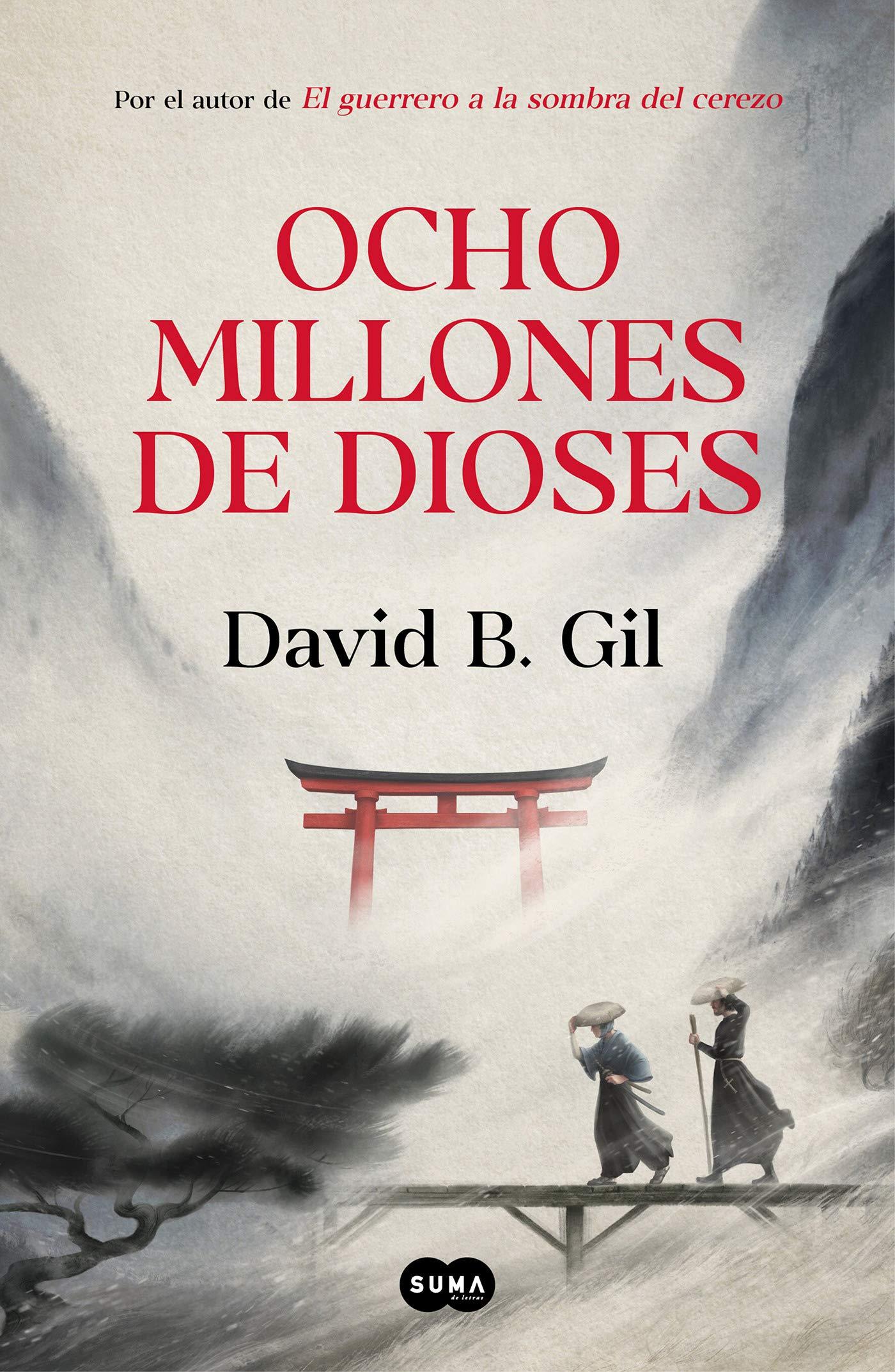 Ocho millones de dioses por David B. Gil