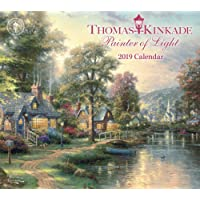 Thomas Kinkade Painter of Light 2019 Deluxe Wall Calendar
