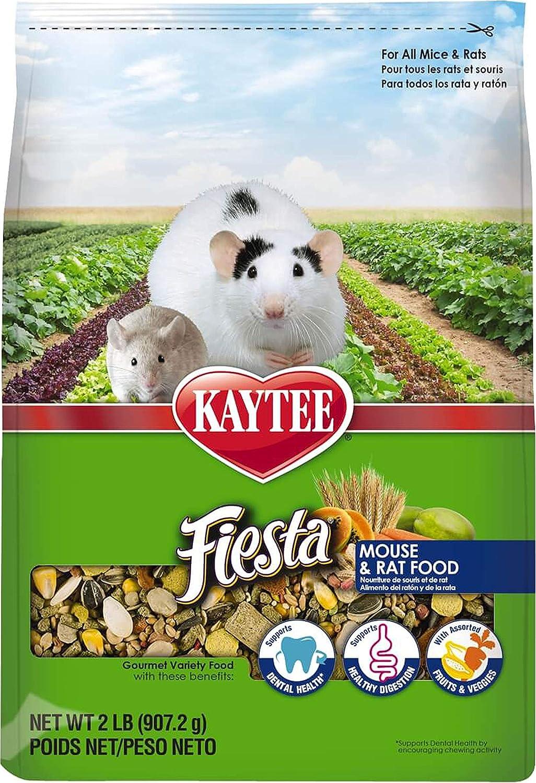 Kaytee Fiesta Max Mouse/Rat 2lb