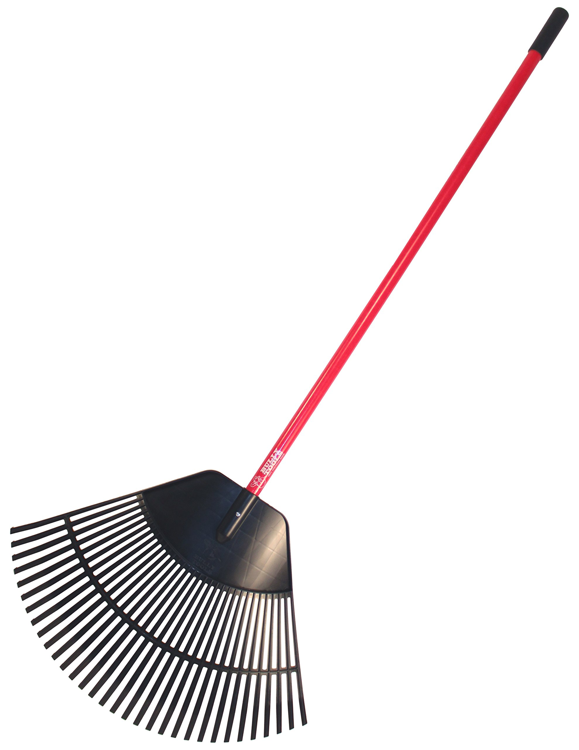 Bully Tools 92630 30'' Poly Leaf Rake. Fiberglass Handle. (ships disassembled)