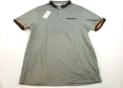 Amazon.com: Kjus Men Polo Shirt Strike primeflex UPF30 Grey XL ...