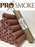 Pink/Peach Butcher Paper in Carry Tube, FDA Approved and the original paper for Texas style BBQ (18'' x 150Ft Roll)