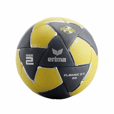 erima Handball G9 Reactor 2.0 - Pelota de balonmano, color gris ...