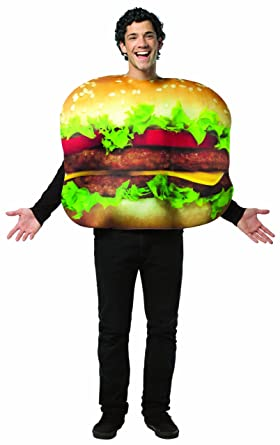 rasta imposta cheeseburger costume multi colored one size