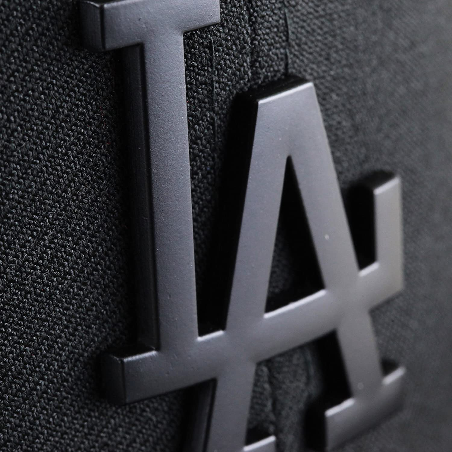 Los angeles dodgers black on black cap with black metal logo by los angeles dodgers black on black cap with black metal logo by new era 9fifty at amazon mens clothing store buycottarizona Image collections