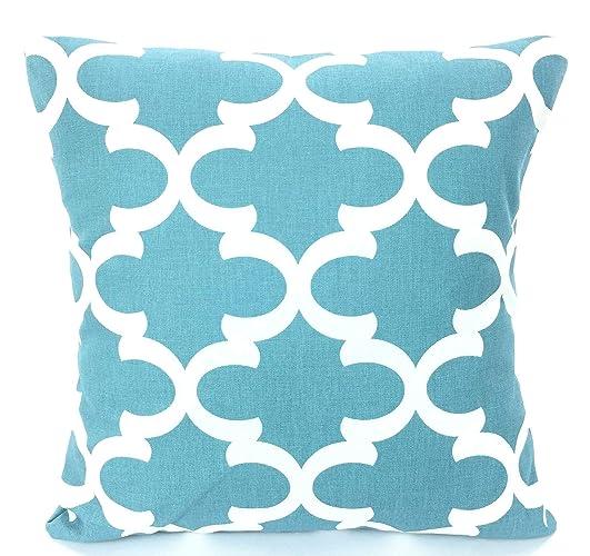 Peachy Amazon Com Sale Blue White Pillow Covers Decorative Throw Customarchery Wood Chair Design Ideas Customarcherynet