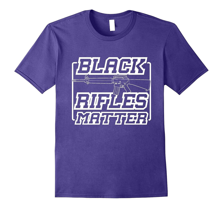 Black Rifles Matter Guns and Freed Lover Gift TShirt-Vaci