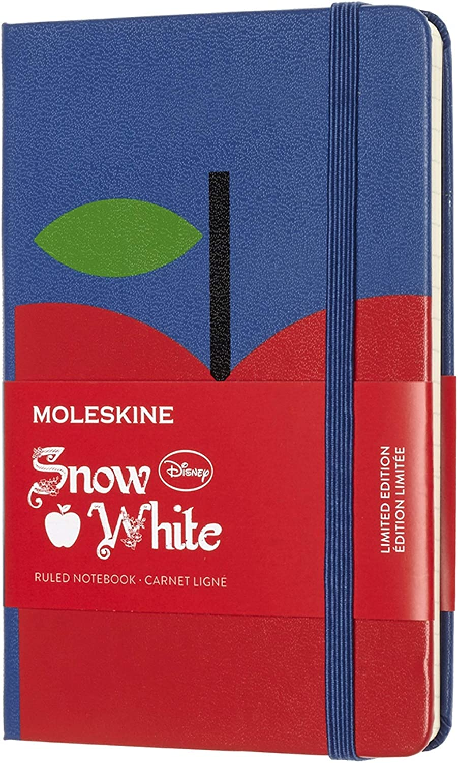 Moleskine Limited Edition Snow White Notebook, Hard Cover, Pocket (3.5