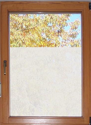 610 / 65cm hoch Sichtschutzfolie Fensterfolie Glasdekor Badezimmer ...