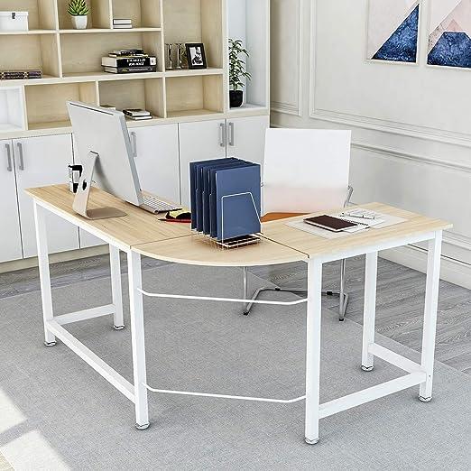 Escritorio Moderno de Lujo en Forma de L para casa, Oficina ...