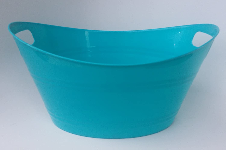 Grayish Taupe Top Rim 12.5 x 9.25 x 6.5 Tall Plastic Storage Tub