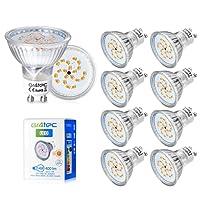 GU10 35W, Gr4tec Lot de 10 GU10 4W Ampoule LED Blanc Chaud 230V High Power Spot Light 2800K Eclairage 120° 20 x 2835 SMD LED 400lm Equivalente à Incandescence 35W