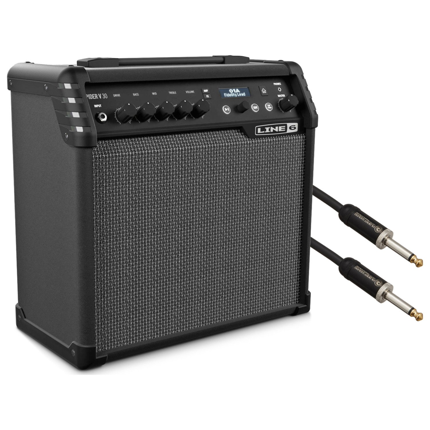 line 6 spider v 30 electric guitar modeling combo amp w cable guitar affinity. Black Bedroom Furniture Sets. Home Design Ideas