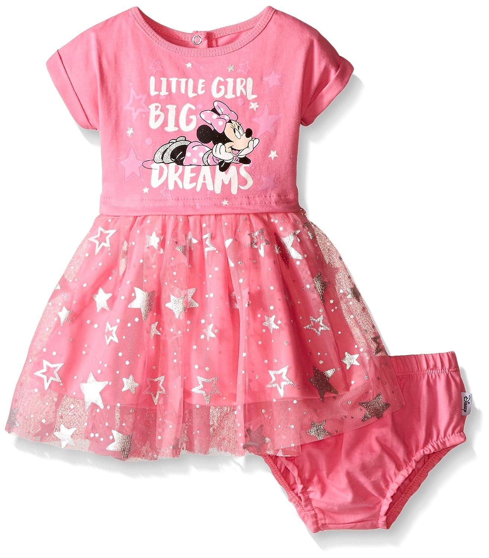 Amazon Disney Baby Girls Minnie Mouse Knit Dress Set Multi