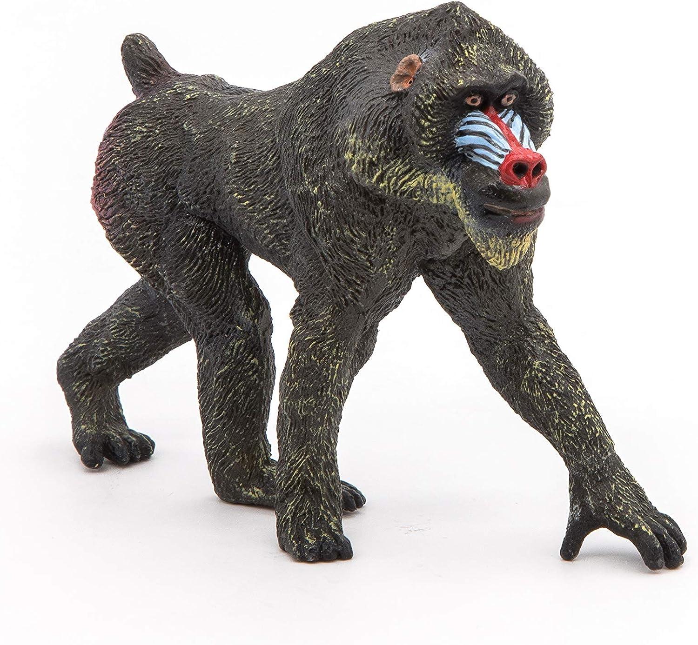 Papo 50121 Mandrill WILD ANIMAL KINGDOM Figurine