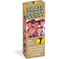Brain Quest Grade 7, revised 4th edition: 1,500 Questions and Answers to Challenge the Mind (Brain Quest Decks)