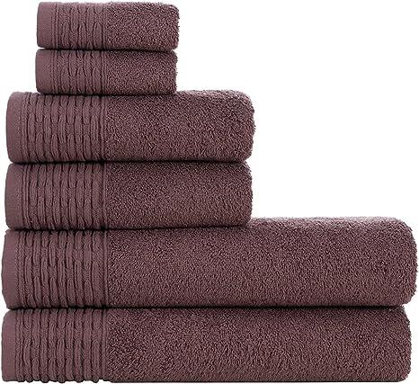 "Set of 5 HYGGE Premium 100/% Turkish Cotton Washcloth 12/"" x 12/"""