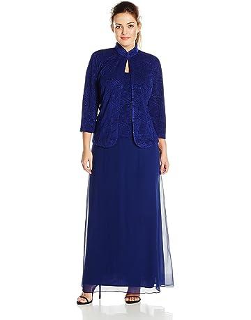 3d34509ed96f Plus Size Mother of the Bride Dresses | Amazon.com