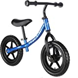 Best Balance Bike for Kids and Toddlers - Boys and Girls Self Balancing Bicycle with No Pedals is Perfect for Training Your 18 Month Old Child - Classic Run Bikes for Balance Training