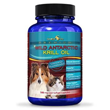 Amazoncom Pure Antarctic Krill Oil Capsules For Pets All