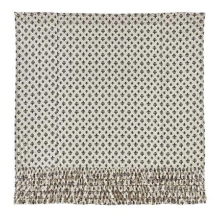 Amazon VHC Brands 18018 Elysee Ruffled Shower Curtain 72x72 72