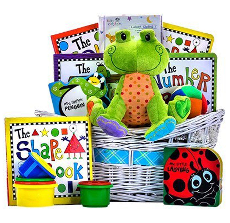 Joy of Learning Baby Basket by giftbasket giftbaskets gift baskets   B00GJ7KGZW