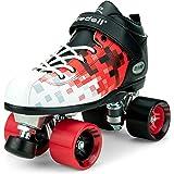 Riedell Skates - Dart Pixel - Quad Roller Speed Skate