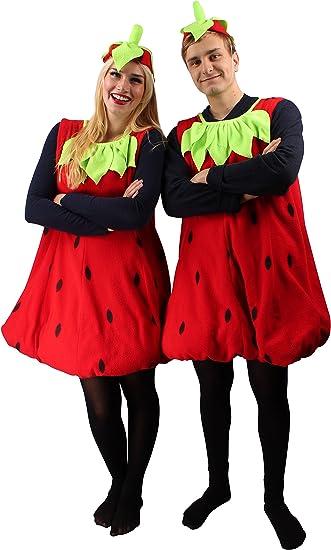 erdbeer kostüm damen s