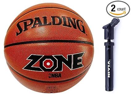 Amazon.com   Spalding Basketball Zone Combo ( Spalding Zone New PU ... 58a3919862