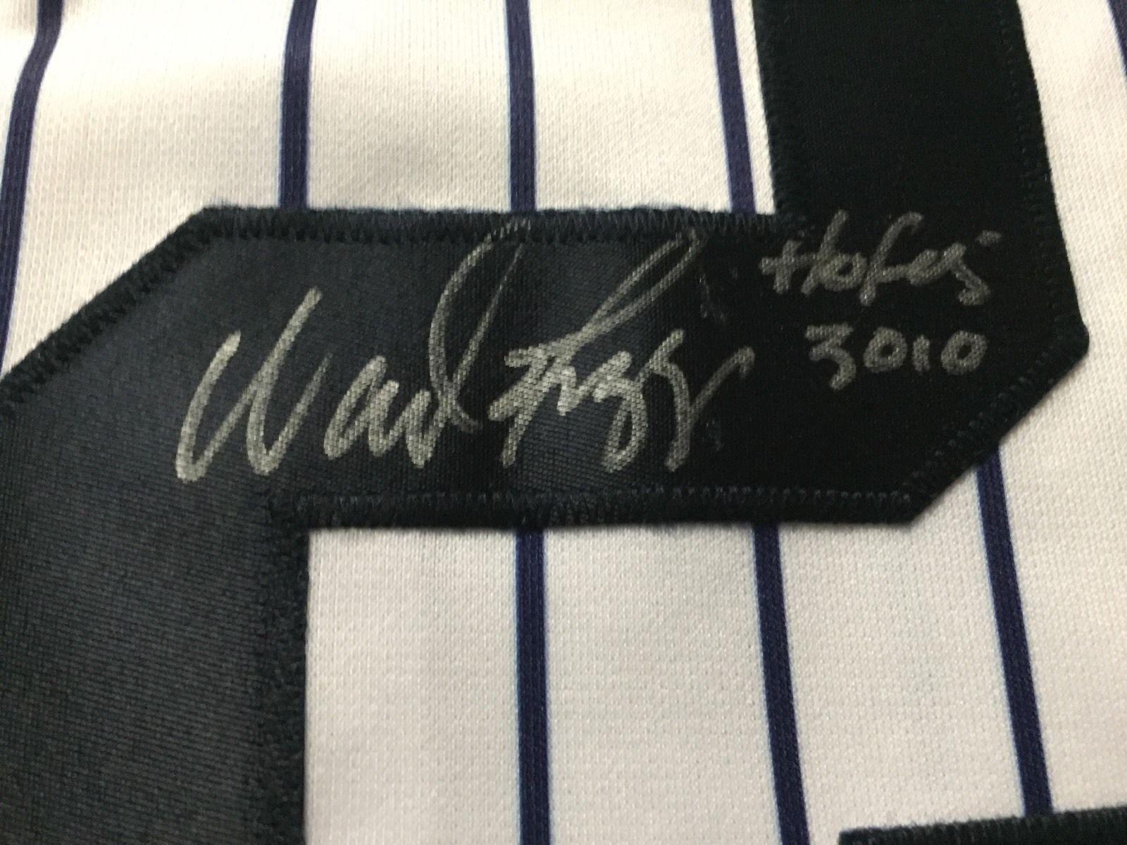 "Autographed/Signed Wade Boggs""HOF 05"" New York Baseball Jersey JSA COA"