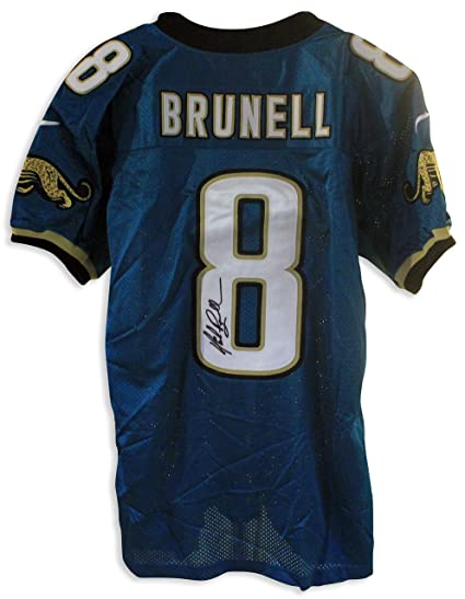 New Mark Brunell Jacksonville Jaguars Autographed Authentic Nike Jersey  supplier