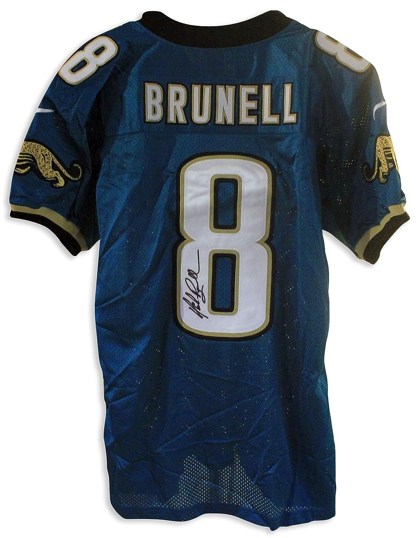 ed141046 Mark Brunell Jacksonville Jaguars Autographed Authentic Nike Jersey ...