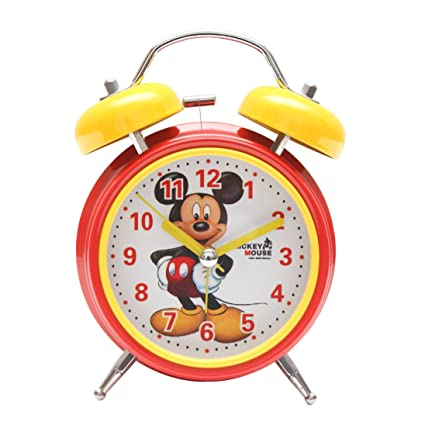 Bazaar Pirates Mickey Alarm Clock, Old Age, Old Fashioned, Kids Room Table  Clock