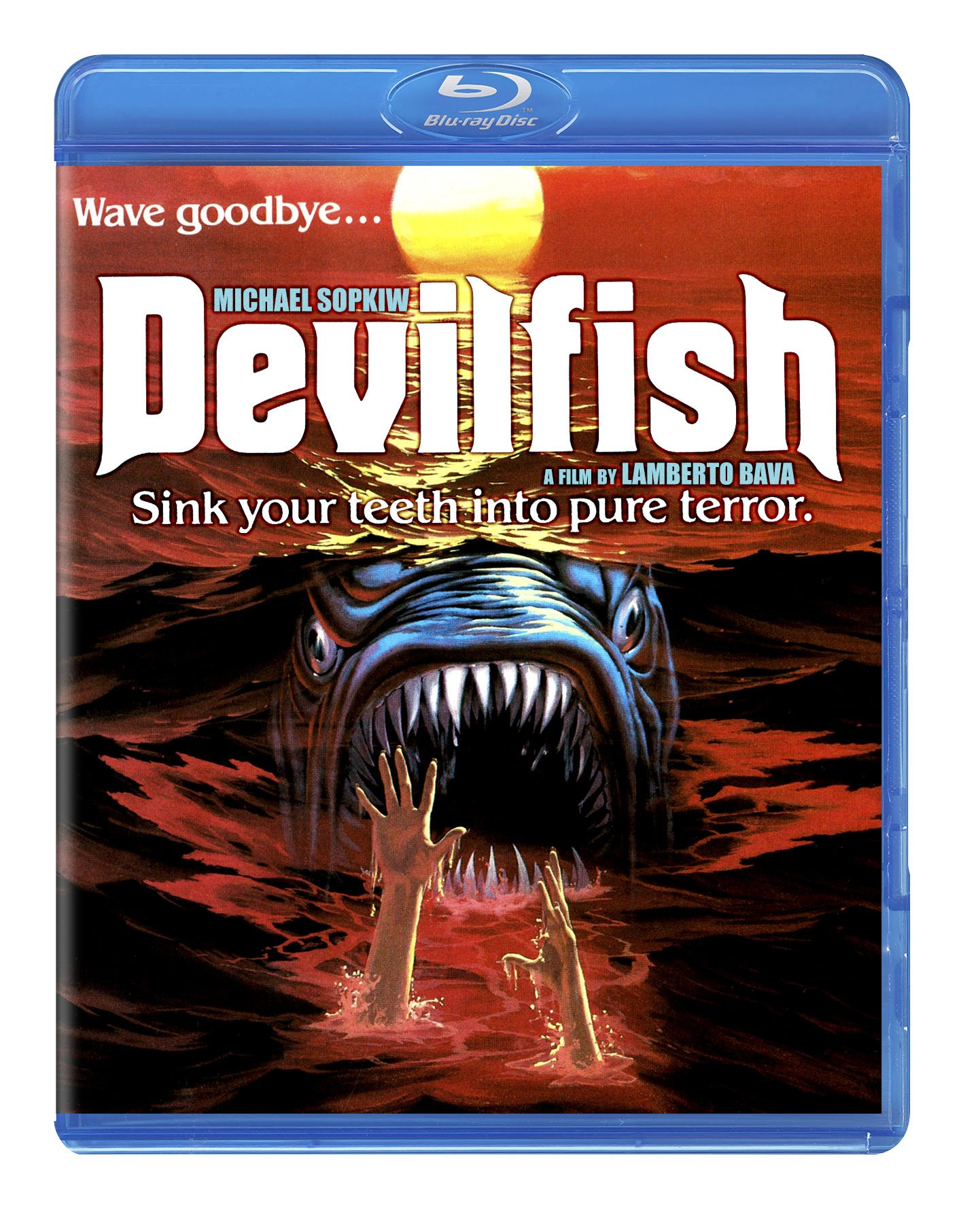 Blu-ray : Monster Shark (aka Devil Fish) (Blu-ray)