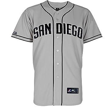 new concept 93869 ed62b Majestic San Diego Padres Replica MLB Jersey Away (XXL ...