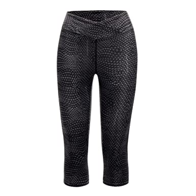 8b2d8e7f081968 Image Unavailable. Image not available for. Colour: Dare 2B Womens Black  Articulate Three Quarter Length Running Tights 16