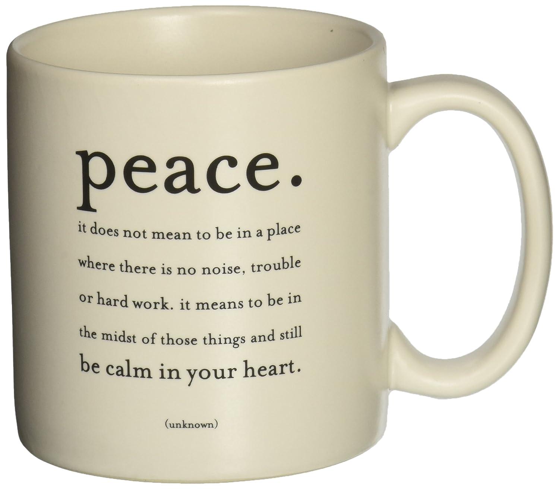 Quotable Mug - Peace