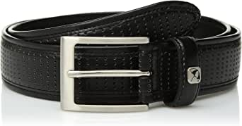 Arnold Palmer mens Perforated Feather Edge Golf Belt