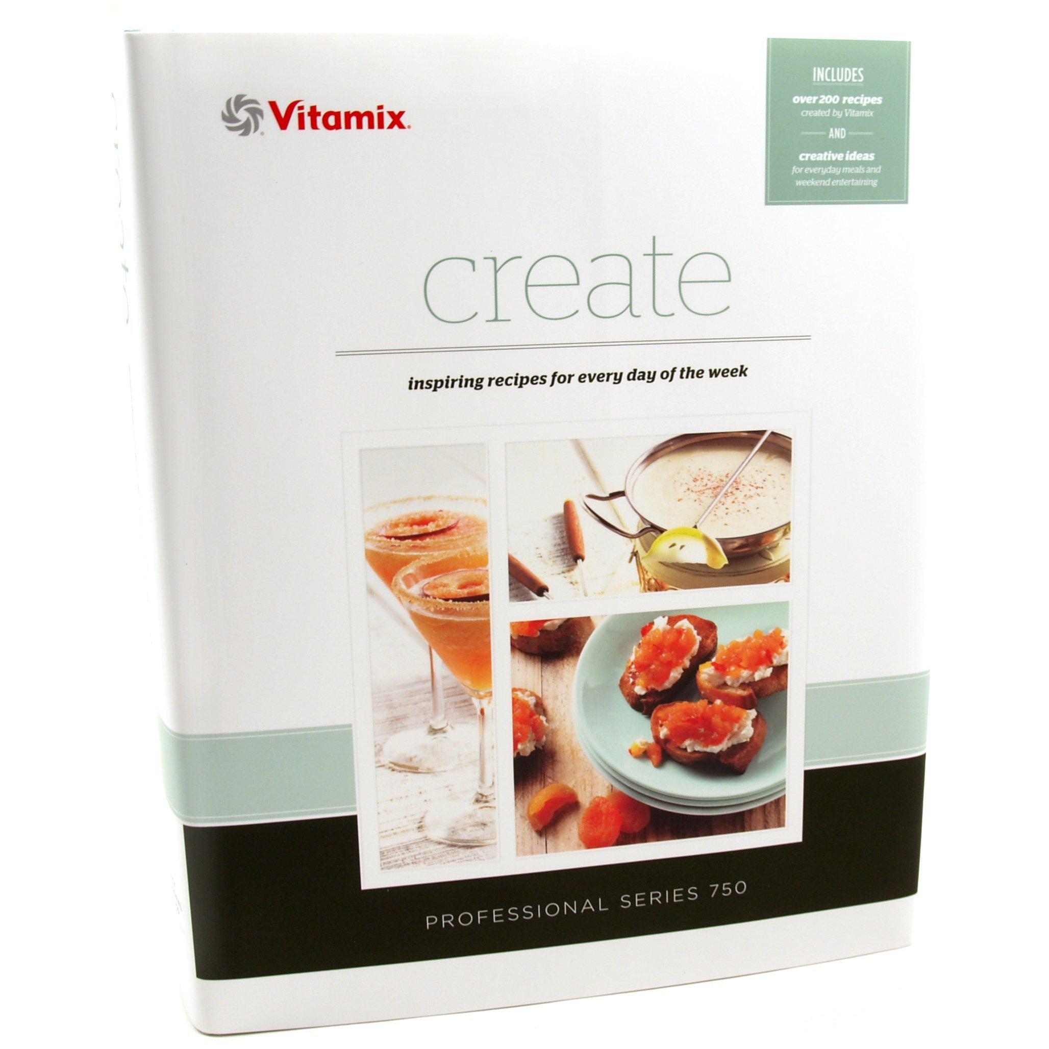 Vitamix create recipe book vitamix 0703113154973 amazon books forumfinder Choice Image
