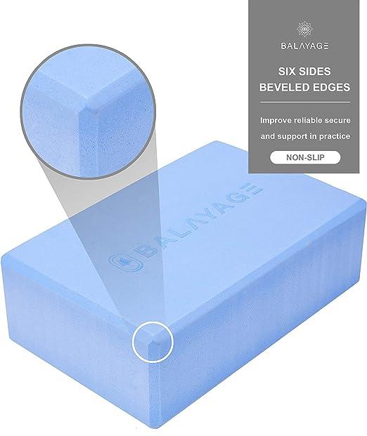 Light EVA Foam Non Toxic Eco Material Balayage Soft Yoga Block