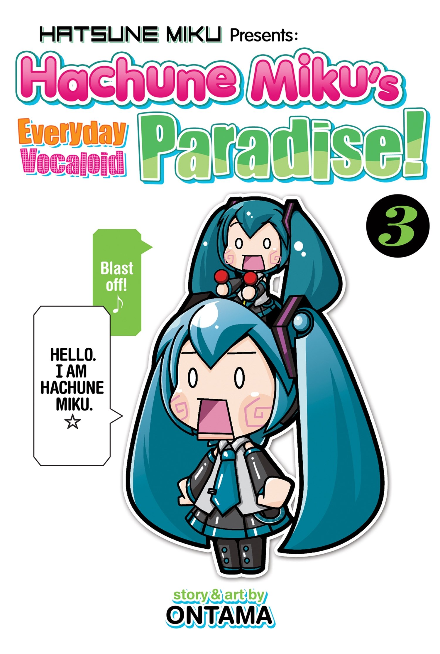 Hatsune Miku Presents: Hachune Miku's Everyday Vocaloid Paradise Vol. 3