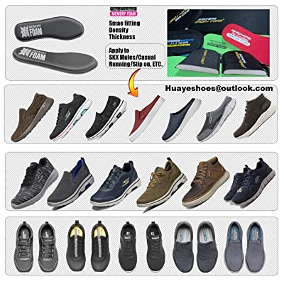Arch Support Comfortable Breathable Plantar Fasciitis Insoles for Men 10 Providing Shock Absorption Cushioning Pain Relief Flat Feet Memory Foam Insoles Shoe Inserts Replacement Innsersoles