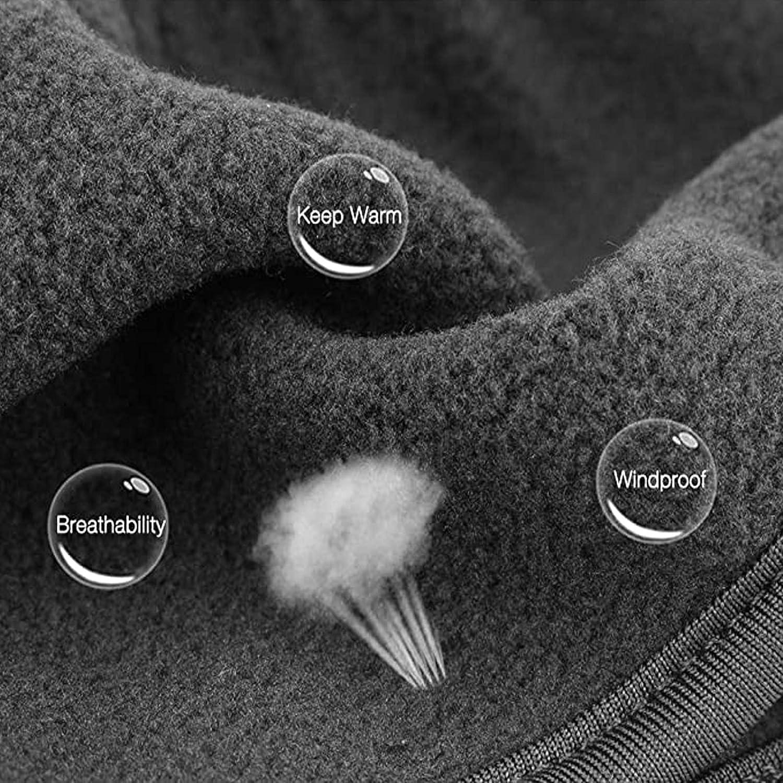 PECHTY Stirnb/änder Winter Ohrensch/ützer Dehnbar Thermal Headband f/ür Joggen Laufen Wandern Radfahren und Motorradfahre 2 Stuck Sport Stirnband f/ür Damen und Herren