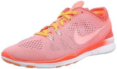 Nike Free 5.0 Tr Fit 5 Breathe Damen Hallenschuhe, Rot (Lava Glow ...