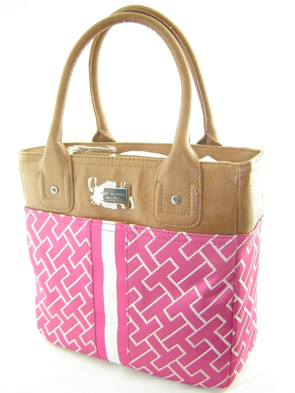 Tommy Hilfiger Big Logo Small Tote Bag Handbag Purse