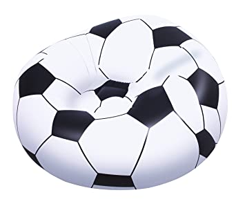Cool Bestway 45 X 44 X 28 Inch Beanless Soccer Ball Chair Ocoug Best Dining Table And Chair Ideas Images Ocougorg